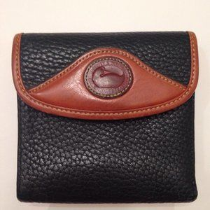 DOONEY & BOURKE VINTAGE PEBBLED LEATHER WALLET